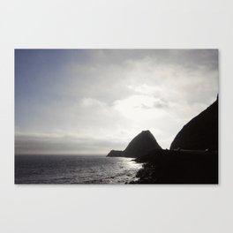 Coastal Silhouette Canvas Print