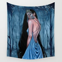 Blue Sovereign Wall Tapestry