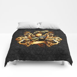 Medieval Coat of Arms Comforters
