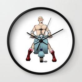 Vespa Obsession Wall Clock