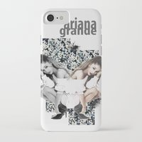 ariana grande iPhone & iPod Cases featuring Ariana by Andrea Valentina