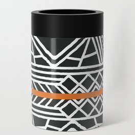 Tribal ethnic geometric pattern 022 Can Cooler