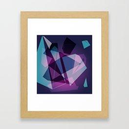 Shape Color Framed Art Print