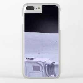Apollo 17 - Lunar Rover Driver's Seat Clear iPhone Case