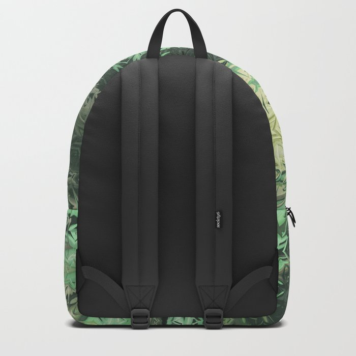 Green Illusions Backpack