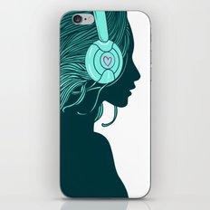DJ Girl iPhone & iPod Skin