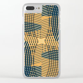 Texture 1973 Clear iPhone Case
