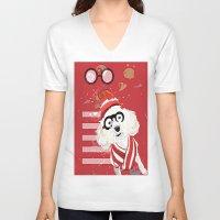 waldo V-neck T-shirts featuring Wheres Waldo by grapeloverarts