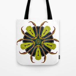 Indian Tribal Feather Star Tote Bag