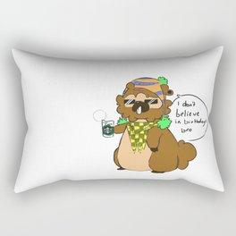 Bidoof Hipster Rectangular Pillow