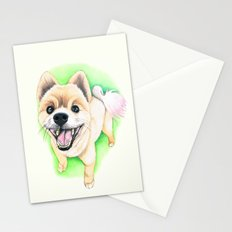 Pomeranian dog  - F.I.P. - Jack-Jack Stationery Cards