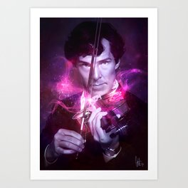 His Last Bow Art Print