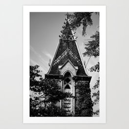 Steeple Art Print