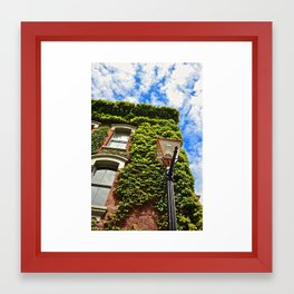 Up, up, and away. Framed Art Print