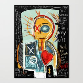 This is my thinking Canvas Print
