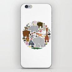 The Animal Kingdom iPhone & iPod Skin
