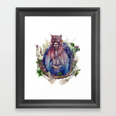Soldier On Framed Art Print