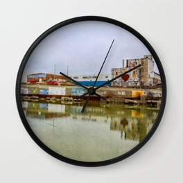 The Beauty of Urban Decay Wall Clock