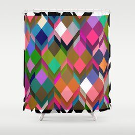 Poetry and Boxes Shower Curtain