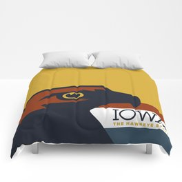 Iowa - Redesigning The States Series Comforters