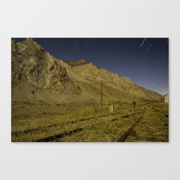 Mointains light Canvas Print