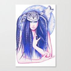 Medicine Woman Canvas Print