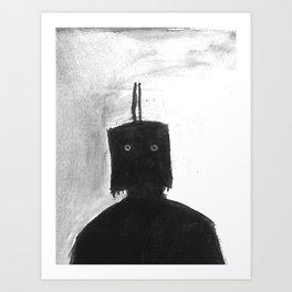 The Box Mask Art Print