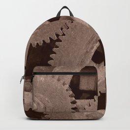 Big Gears (sepia ) Backpack