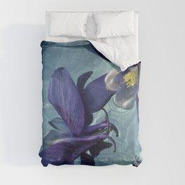 Floating Columbine Comforters