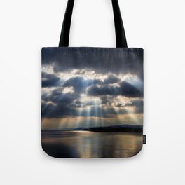 Sunbeams over Exmouth Tote Bag