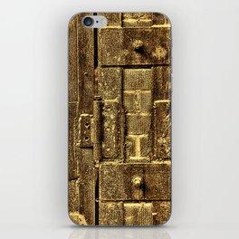 Unhinged 2 Sepia iPhone Skin