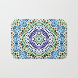 Mosaic Pattern Bath Mat