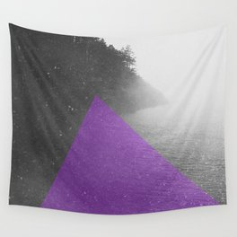 NEON NATURE | Purple Wall Tapestry