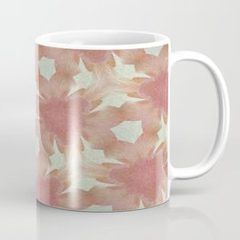 Geometric Floral Design - Pink Coffee Mug