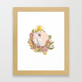 cacatoes Framed Art Print