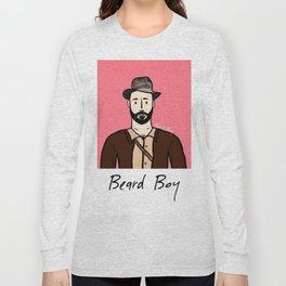 Beard Boy: Alessandro Long Sleeve T-shirt