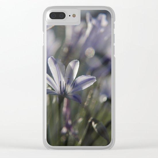 Quiet Splendor Clear iPhone Case