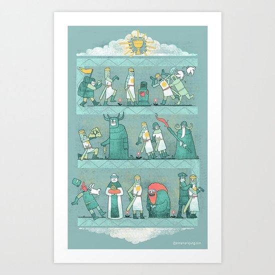 Tapisserie de Arrrgggh Art Print