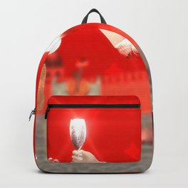 SquaRed: Face Off Backpack