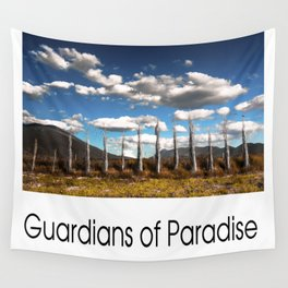 Guardians of Paradise Wall Tapestry