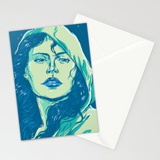 When The Night Comes Stationery Cards