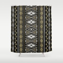 Tribal Chic 3 Shower Curtain