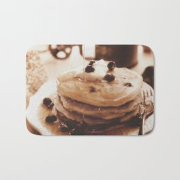 Pancakes from the past Bath Mat