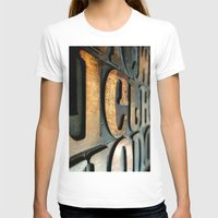 letters T-shirts featuring letters by Sébastien BOUVIER