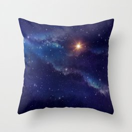 Shine Like the Brightest Star! Throw Pillow