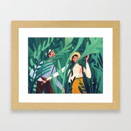 Botanist Framed Art Print