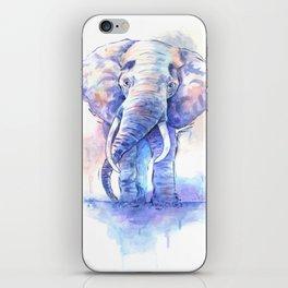 Elephant Watercolor iPhone Skin
