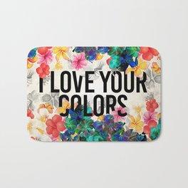 I love your colors Bath Mat