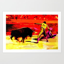 TAUROMACHIA Art Print
