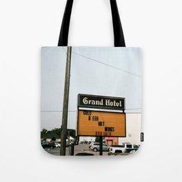 Grand Hotel Tote Bag